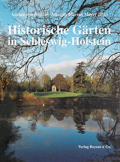 """Buch """"Historische Gärten in Schleswig-Holstein"""""""